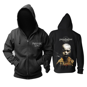 Bloodhoof Paradise Lost band  gothic metal doom metal zipper hoodie Asian Size