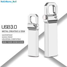 usb flash drive 16GB 2.0 metal pen 128GB 64GB 32GB 8GB 4GB silver pendrive memory stick free shipping