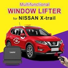 Car Auto Window closer + folding rear mirror + speed lock + sunroof close suitable for X trail 2014 2020 2018 2019