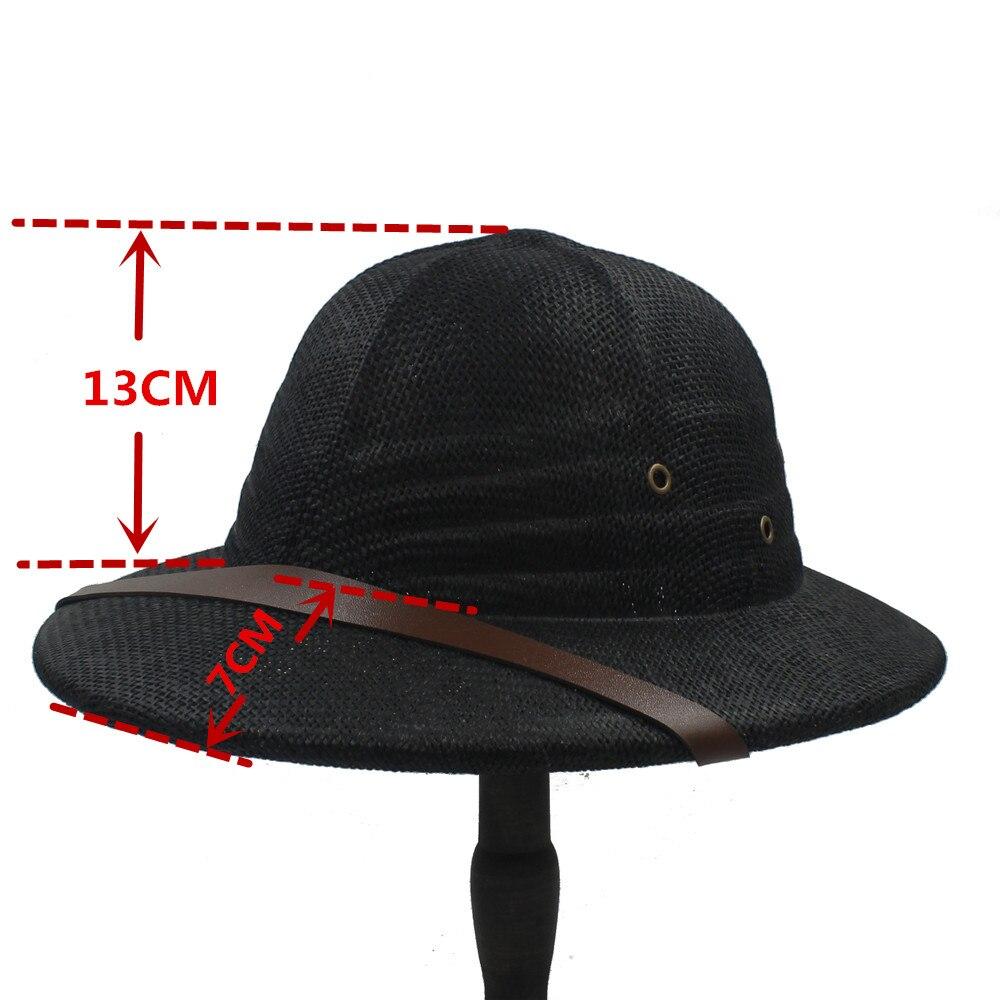 Paja toquilla casco pith bucket sombreros para hombres vietnam jpg  1000x1000 Comprar como hacer sombrero de b41e68fa983