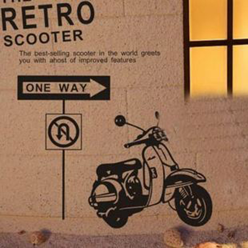 Customize Motorcycle Gl Pattern Decals Sticker Wall Decor For 22 Colors Choose Custom