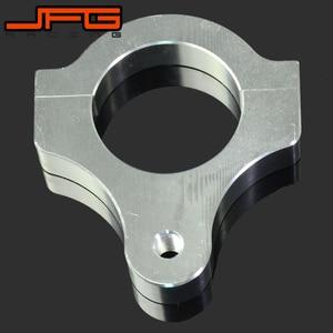 Image 4 - Direksiyon damperi sabitleyici kelepçe montaj adaptörü braketi 30 31 32 33 35 36 37 38 39 40 41 43 45 46 47 48 49 50 52 53 54 60 MM