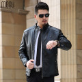 2016 leather jacket men winter mens leather jacket 1201