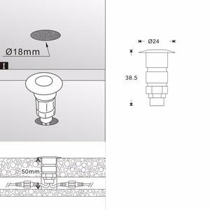 Image 5 - 10 × 24 ミリメートル 12 ボルトアルミ防水ガーデン庭 LED デッキレール階段テラスライト + 無線 Lan コントローラ調光タイマー + トランス