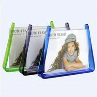 Acrylic Photo Frame Self-standing Desk Frame Advertisement Holder  PF020