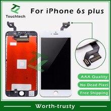 """20 шт. AAA+++ Качество без битых пикселей для iPhone 6s Plus lcd 5,"""" B/W дисплей с сенсорным экраном дигитайзер сборка Замена"""