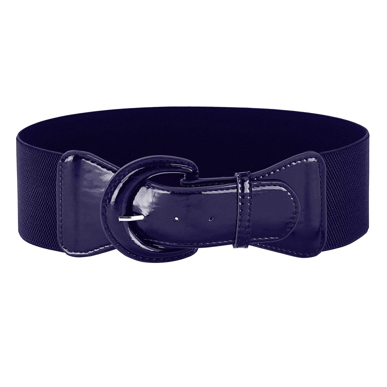 Belts   Women Fashion Wide Faux Polyurethane Leather Solid Wide Metal Hook Stretchy Ladies Elastic Waist   Belt   Waistband for Dress