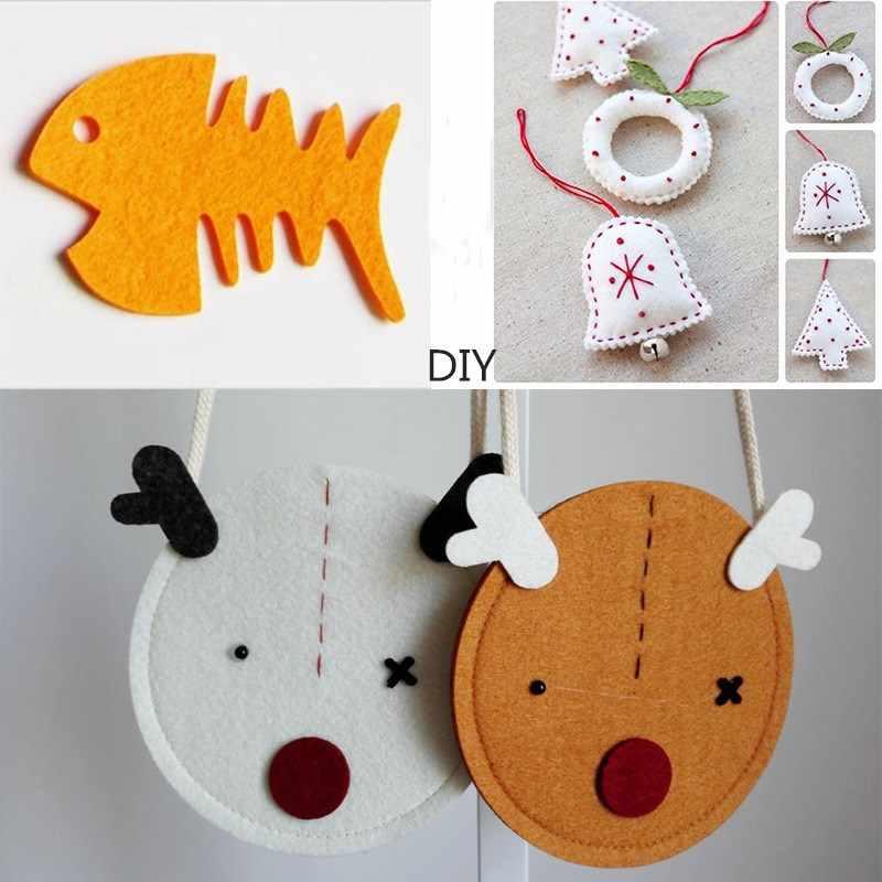 30*30 см Войлок Ткань DIY ремесла для детей чувствовал цветы гирлянды детский сад ручные зверята игрушки подарки для хранения Швейных Одежда для кукол