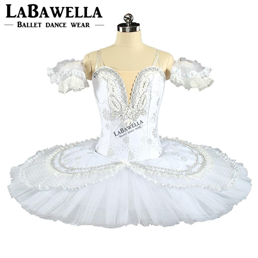 Bianco Neve Queen Piatto Costume Delle Donne BT9143B Schiaccianoci Professionale Tutu Cigno Bianco A Pelo Bellezza Fase di Balletto Tutu