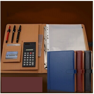 Business Multifunctional Folders A4 Kraft Manager Clip Real Estate Sales Car Folder N gary eldred w investing in real estate