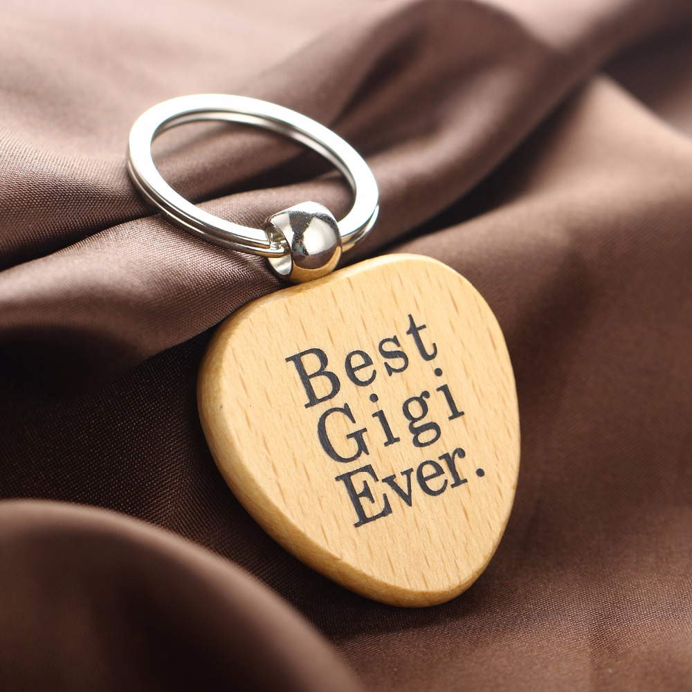 Best Uncle In The World Bronze or Silver Keyring New in Gift Bag
