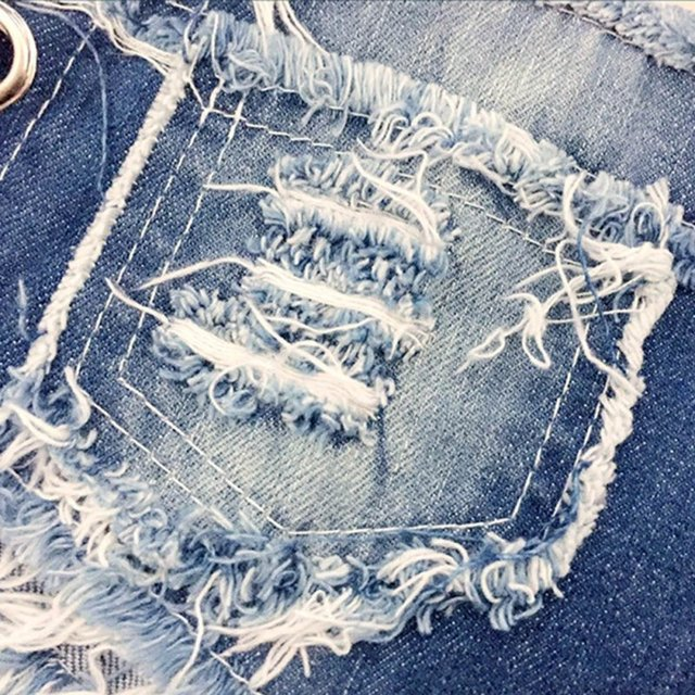 pole dancing Sexy Women's summer crystal Shorts Jeans denim Micro Mini Jean Ultra Low Rise Waist Clubwear
