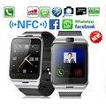 2016 новый Aplus GV18 Smartwatch Bluetooth Smart Watch Для Android IOS телефон Поддержка SIM TF Карты SMS GPRS NFC PK DZ09 GT08 U8