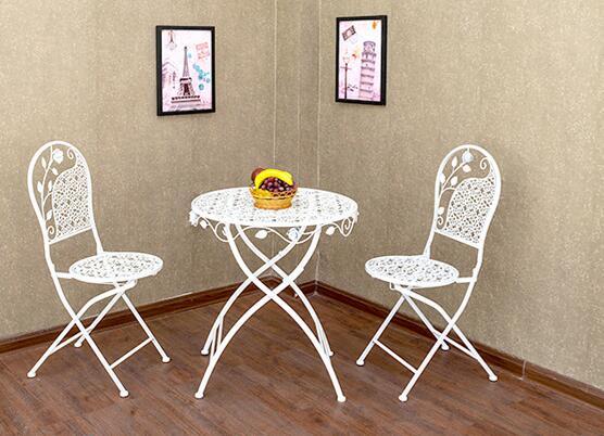 Современный и контракт, кованого железа балкон столы и стулья ...