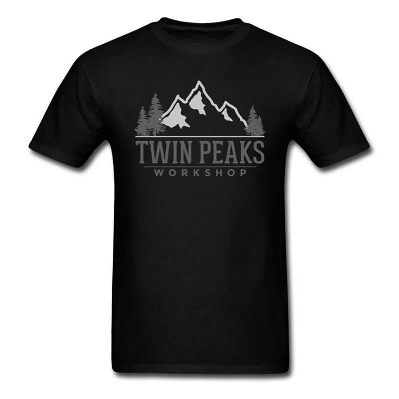 Printed T Shirt SummerS Fashion Gift Twin Peaks Men Short O-Neck T Shirts