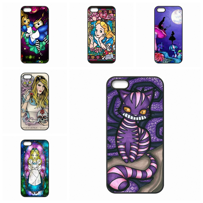 Stained Glass Alice In Wonderland For Xiaomi Max Redmi Note 4 For HTC One M10 For Motorola Moto X E G G3 Case Coque Cover