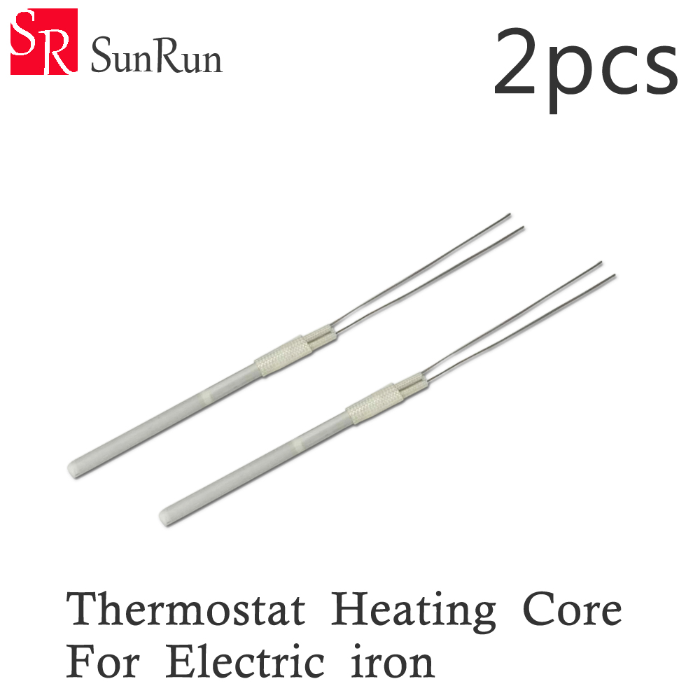 2pcs Electric adjustable constant temperature heating type soldering iron core heater 60w heating element free shipping цена