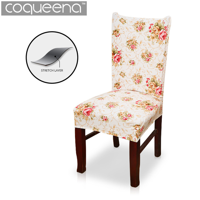 Universal Spandex Stretch Chair Covers Dining Seat Parson Slipcovers European Style Home Decor