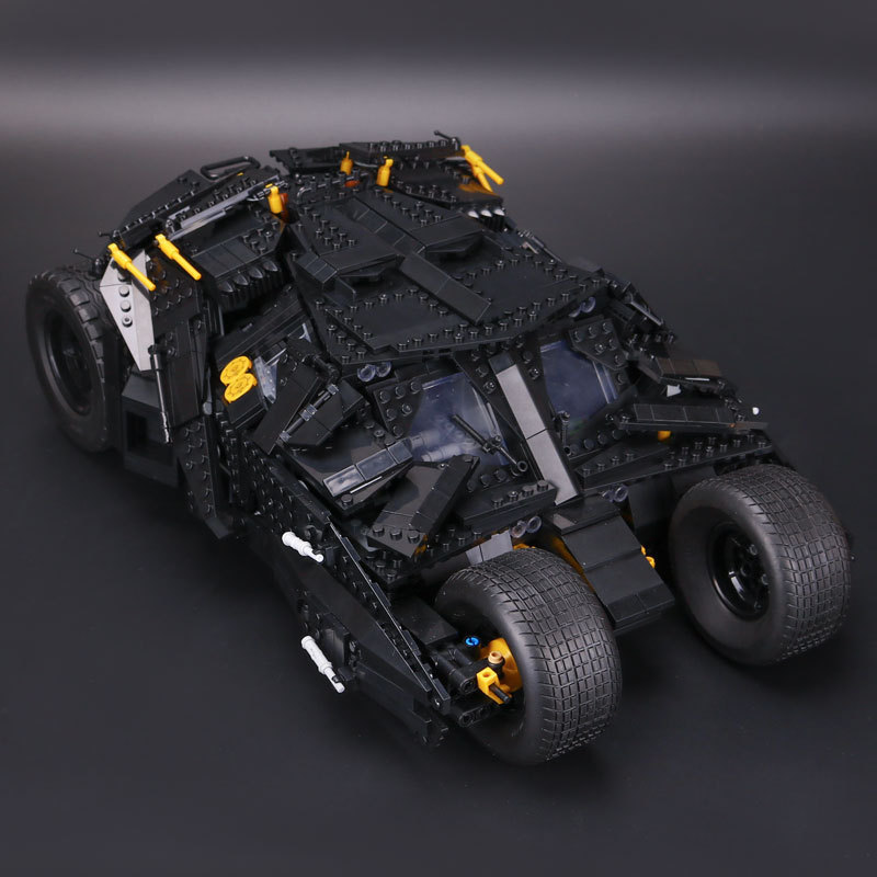 Upgrade 2113pcs Oversized Bat Car Batman The Combat Vehicle Bricks ...