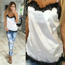 Cheap Sexy New Arrival 2018 Casual Style Women Camisole Home Sleepwear Woman Clothing Cami Top Summer