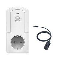 Thermometer TS 5000 EU Smart WiFi Plug Remote Control Thermostat Socket Remote Control Thermostat For Home Thermostat 230V 16A