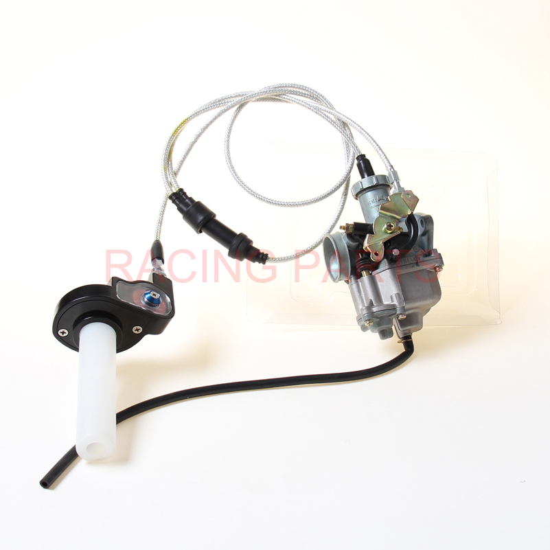 keihi PZ30 30mm Carburetor Power Jet Accelerating Pump Visiable Throttle Twister Dual Cable For 200cc 250cc Dirt Bike ATV Quad in Engines from Automobiles Motorcycles