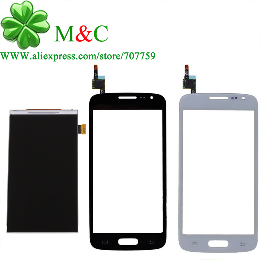 OGS G386 Touch LCD Panel For Samsung Galaxy Core Lte G386F G386 LCD Display Touch Screen Digitizer Panel Free By Post