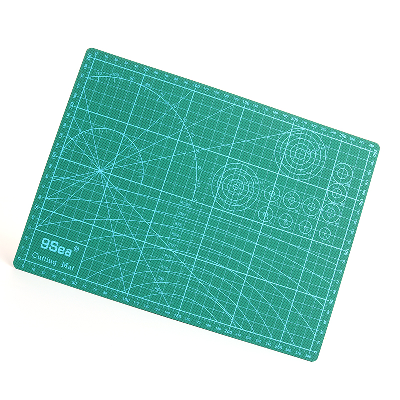 Pvc Rectangle Self Healing Cutting Mat Tool A4 Craft Dark Green 30cm * 22cm pvc rectangle self healing cutting mat tool a4 craft dark green 30cm 22cm
