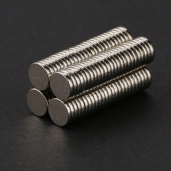 100pcs 5mm x 1mm Craft Model Disc Rare Earth Neodymium Super Strong Magnets N35 hot super strong rare earth re magnets 10mm x 1mm 100 pack