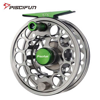 Piscifun Sword Fly Reel with CNC-machined Aluminium Material 3/4/5/6/7/8/9/10 WT Right Left Handed Fly Fishing Reel Gunmetal - DISCOUNT ITEM  54% OFF Sports & Entertainment