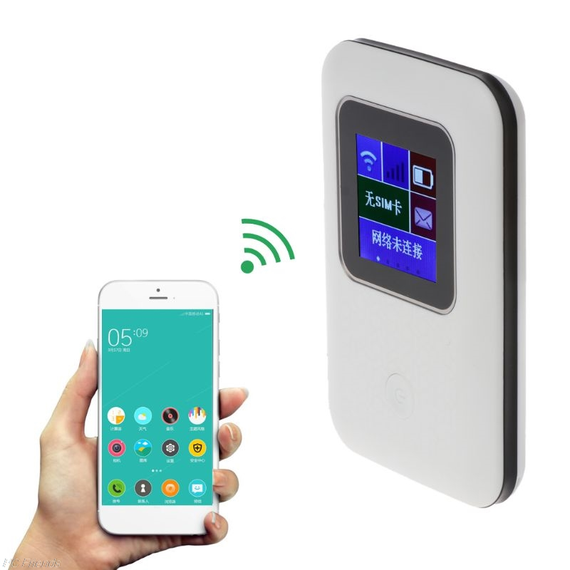 4G Lte Pocket routeur Wifi Voiture Mobile Hotspot Wifi Haut Débit Sans Fil routeur Wifi Avec Sim emplacement pour cartes Avec Affichage FM922