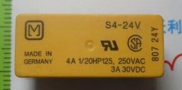 Подробнее о HOT NEW relay S4-24V S424V S4 24V 24VDC DC24V 24V DIP12 2pcs/lot signal relay agy2324 ds2y s 24v ds2y s 24 v agy2324