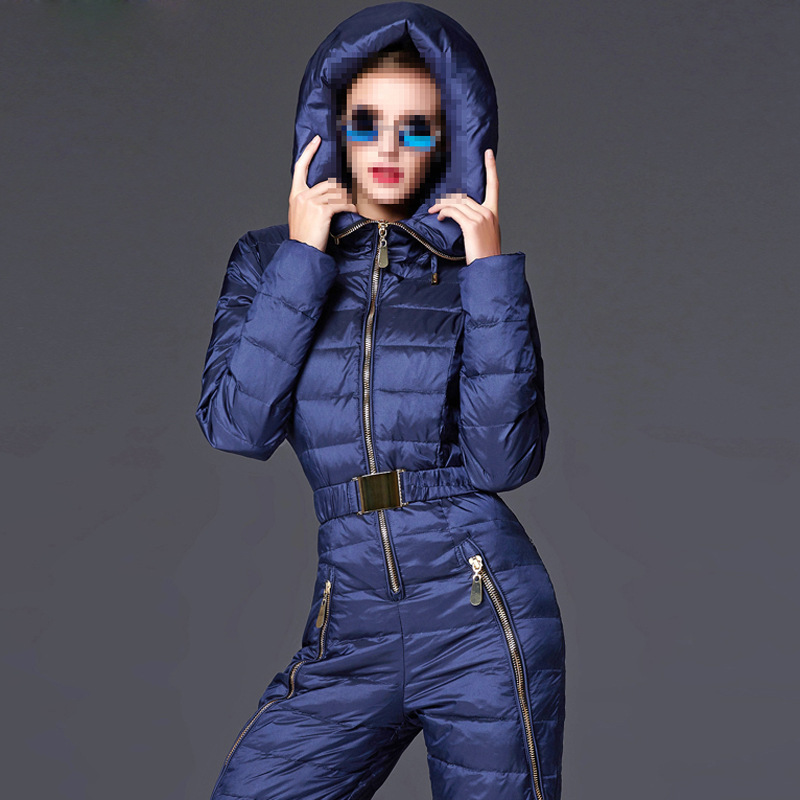 Warm thicker White Duck Down font b women b font winter clothing winter thick font b