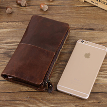 Multifunctional mobile phone bag for iPhone 6 7 8Plus case and case for iPhone X 5.8inch real leather mobile phone case