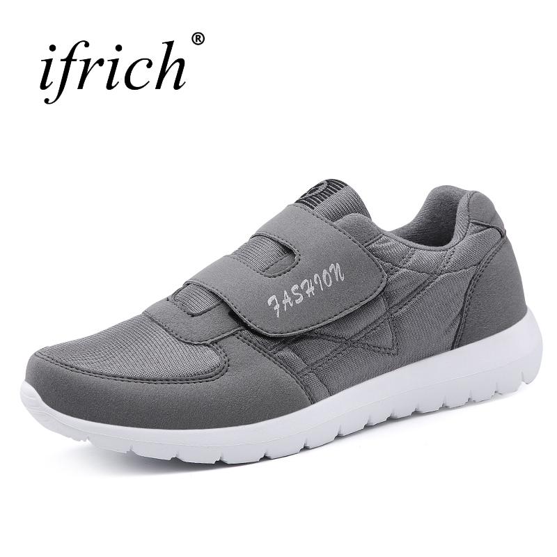 Big Size Running Sport Walking Shoes White Bottom Sports Shoes for Men Blue Gray Sports  ...