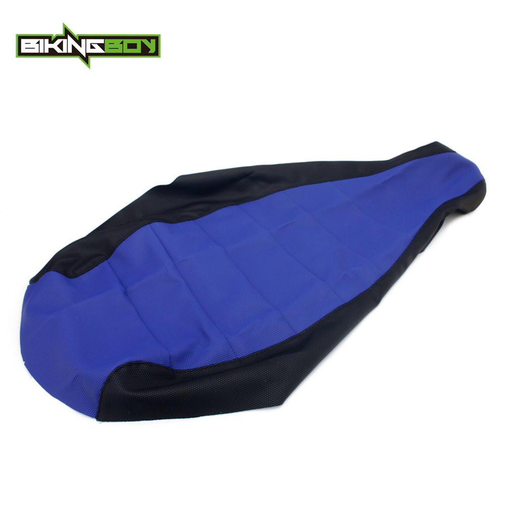 BIKINGBOY For YAMAHA YFM 660R Raptor 01 02 03 04 05 ATV Seat Cushion Cover Gripper Soft Ribbed Replacement Quad Accessories 1PC