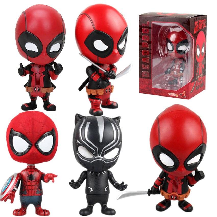 Deadpool And Spider Man 1: Aliexpress.com : Buy Marvel 13styles 10cm Deadpool Figure