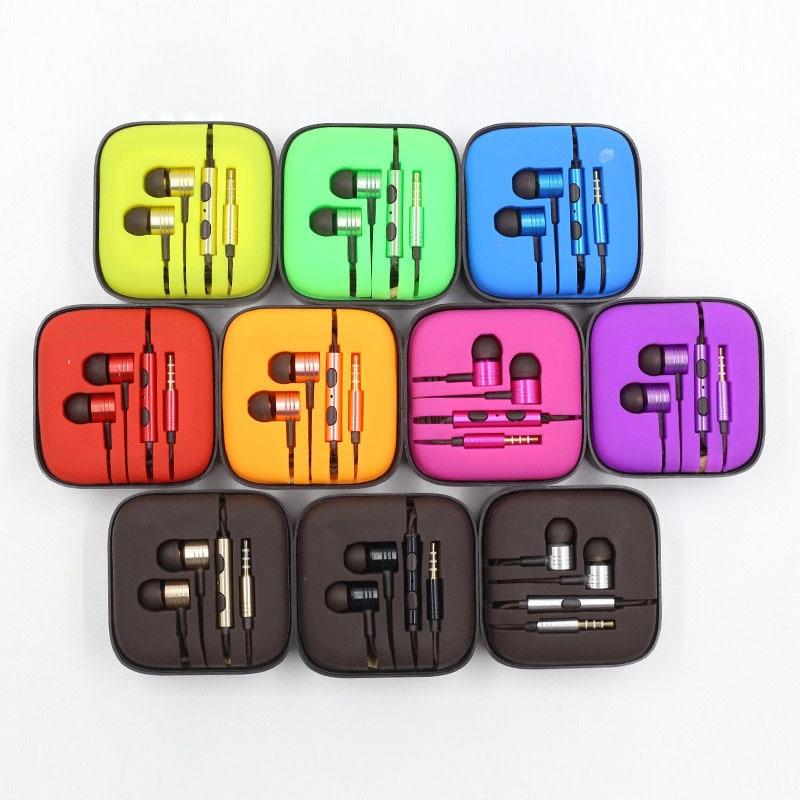 ФОТО C&K 20 pieces XIAOMI Earphones Piston II 2 100% Original High Quality Mi Headset Earphones With Mic For XIAOMI Series Phone