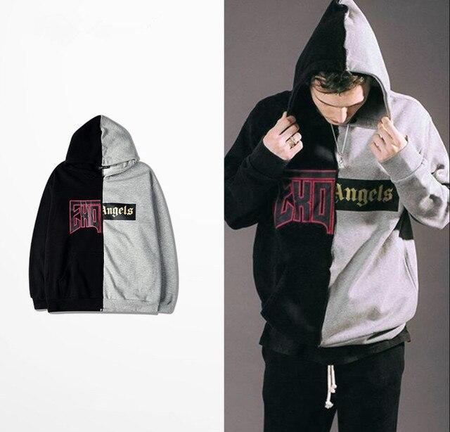 2016 Vetements Hoodie Oversized EXO Hoodies Fear OF God Fleece Sweatshirts Men Hip Hop Streetwear EMINEM Sudaderas Hombre