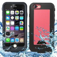 New External Power Bank Battery Charger IP68 Waterproof Cover Case For IPhone 6 6S Plus 2750