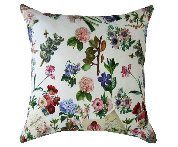 <font><b>Italian</b></font> royal stamp 100% Polyester cushion cotton lumbar Pillow for <font><b>Home</b></font> <font><b>Decor</b></font> Chair sofa back cushions 45*45cm Free shipping