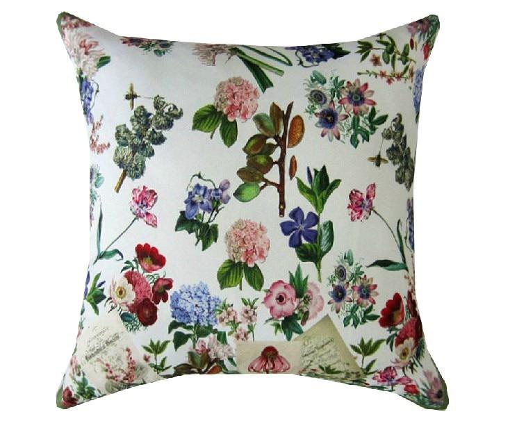 <font><b>Italian</b></font> royal stamp 100% Polyester cushion cotton lumbar Pillow for <font><b>Home</b></font> <font><b>Decor</b></font> Chair sofa back cushions 45*45cm Free shipping