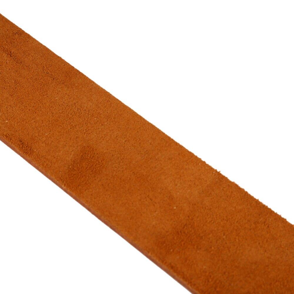 Pro Barber Double-layer Genuine Leather Shaving Strop Straight Razor Sharpener Strap Belt Necessary Shaving Strap Tool 5
