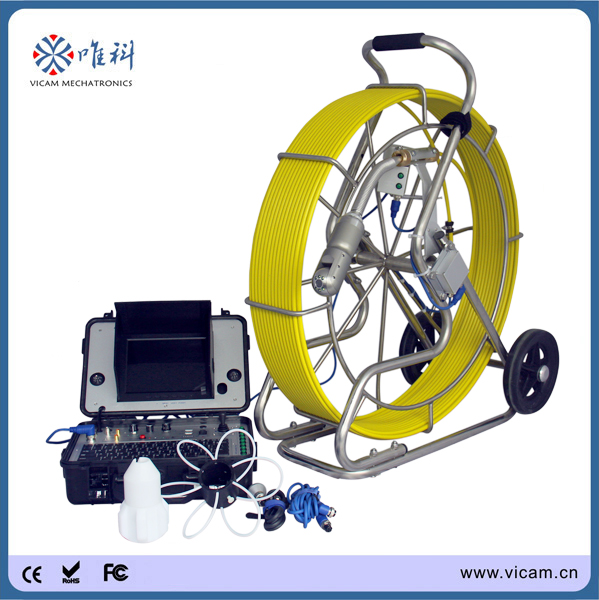 Sewer Camera For Sale >> Us 3380 0 360 Degree Underwater Sewer Snake Inspection Camera Wheels 200ft Air Duct Pipeline Inspection Camera For Sale V8 3288pt 1 In Surveillance