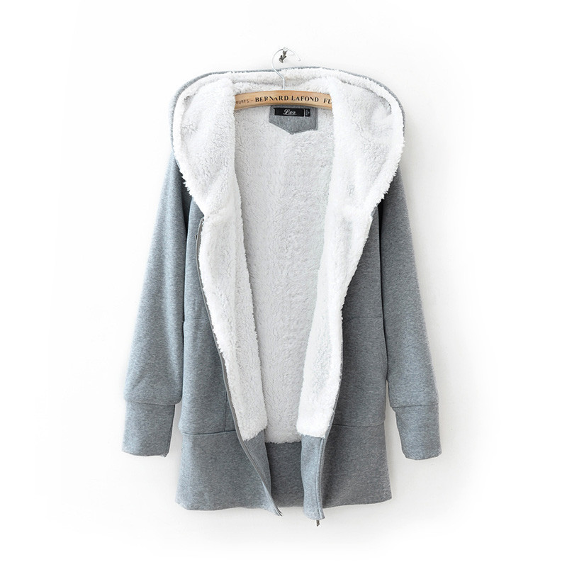 2013 autumn winter clothes new Korean Women Lee Hyori thick fleece ...