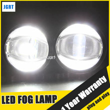 JGRT Car Styling LED Fog Lamp  for Renault Scenic II LED DRL Daytime Running Light High Low Beam Automobile Accessories