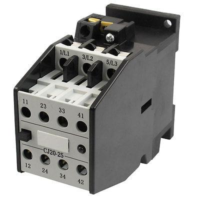цена на CJ20-25 Motor Control 32A 36V 50Hz Coil 3 Pole 2NO 2NC AC Contactor