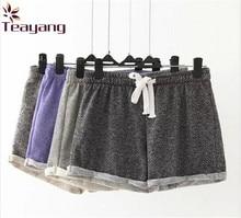 7 Cores Hot Sale Estilo Europeu Feminino Shorts Causais Casa Curtas das Mulheres Calções de treino de Fitness(China (Mainland))