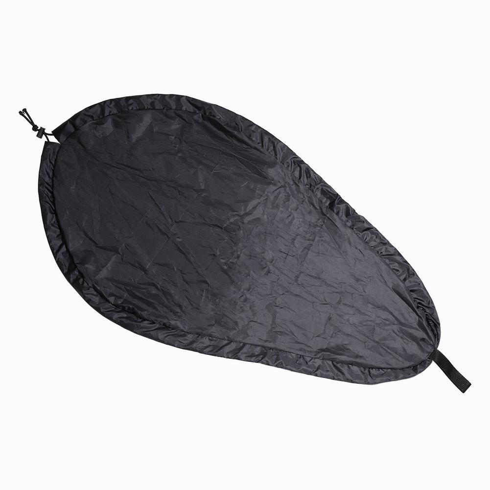 HobbyLane Breathable Waterproof Kayak Cockpit Rowing Boat Seat Cover Kayak Cover Seal Cockpit Protector Adjustable Cover Shield image