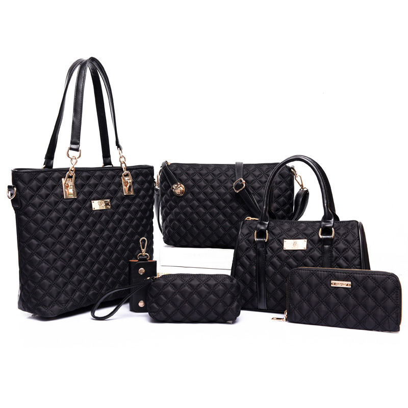 Luxury Handbags Women Bags Designer 6pcs Bag Set Crossbody Bags for Women Nylon Shoulder Ladies Composite Bag